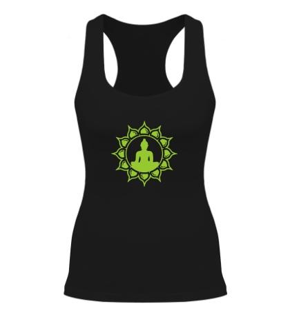 Женская борцовка Символ медитации