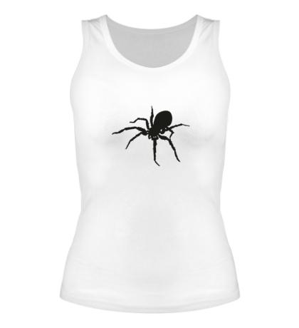 Женская майка Ядовитый паук