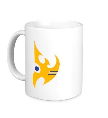 Керамическая кружка Protoss Logo