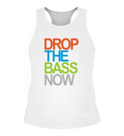 Мужская борцовка Drop the bass now