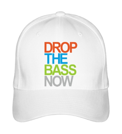 Бейсболка Drop the bass now