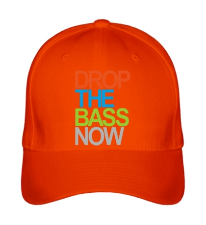 Бейсболка Drop the bass now