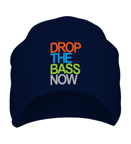 Шапка Drop the bass now
