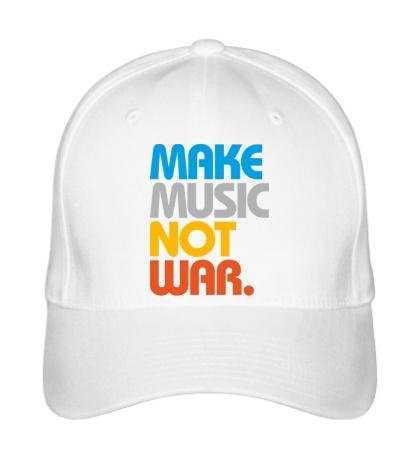 Бейсболка Make music not war