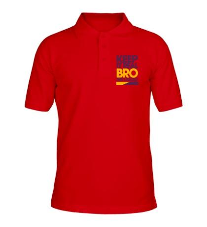 Рубашка поло Keep it real bro