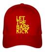 Бейсболка «Let the bass kick» - Фото 1