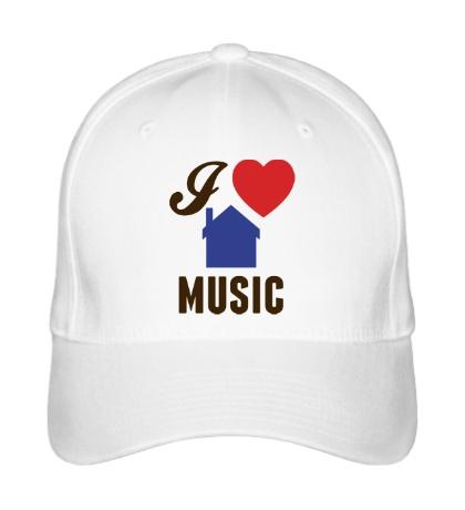 Бейсболка I Listen House Music