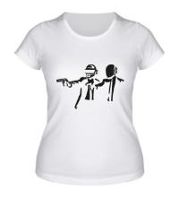Женская футболка Daft Punk Boys