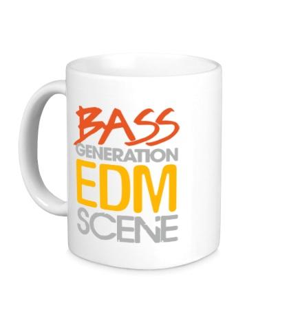 Керамическая кружка Bass generation EDM scene
