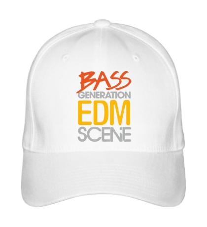 Бейсболка Bass generation EDM scene