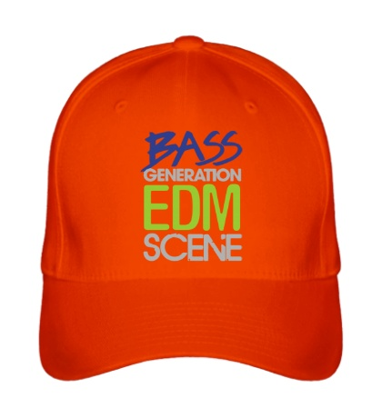 Бейсболка «Bass generation EDM scene»