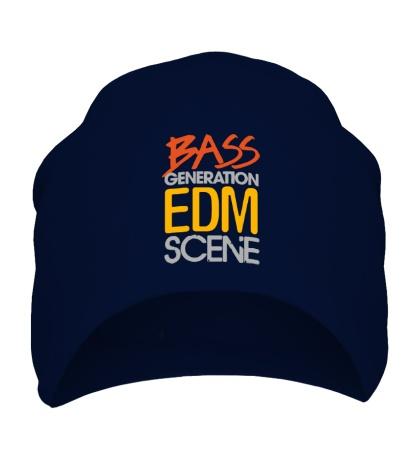 Шапка Bass generation EDM scene