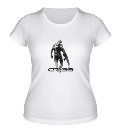 Женская футболка Crysis