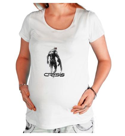 Футболка для беременной Crysis