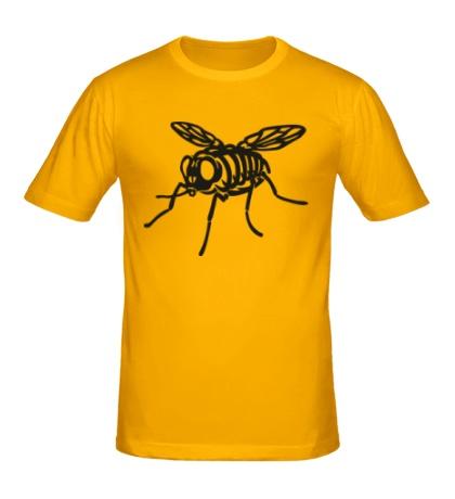 Мужская футболка Рентген мухи