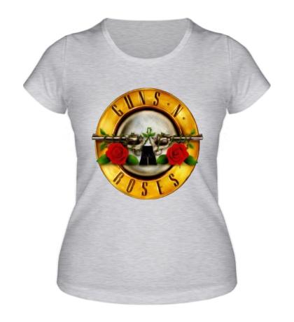 Женская футболка Guns N Roses