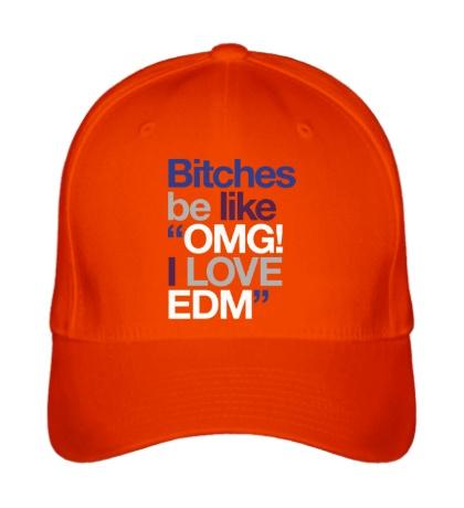 Бейсболка Bitches, I love EDM