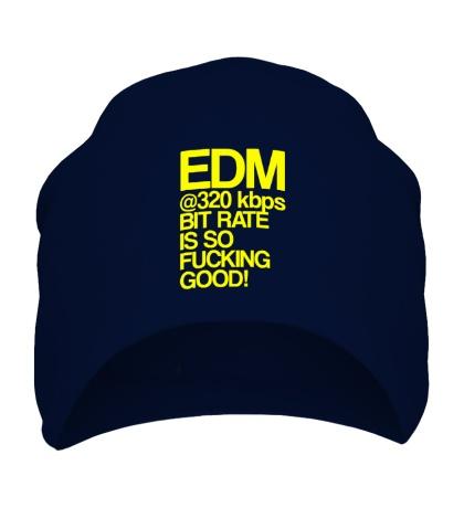 Шапка EDM so fucking good