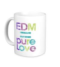 Керамическая кружка EDM pure love