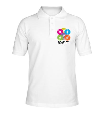 Рубашка поло Electronic Vynil Music