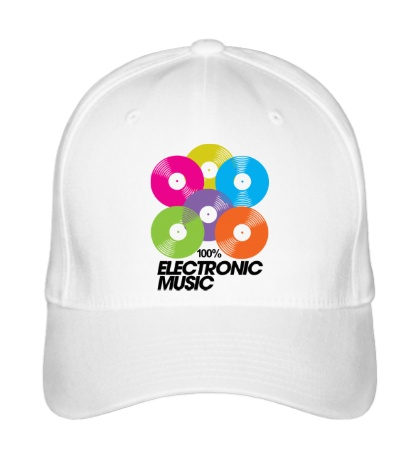 Бейсболка «Electronic Vynil Music»