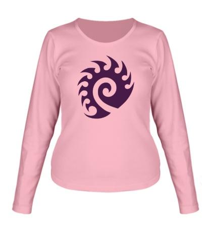 Женский лонгслив Zerg Logo