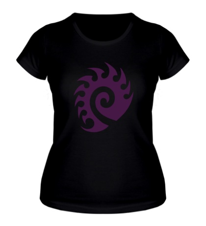 Женская футболка Zerg Logo