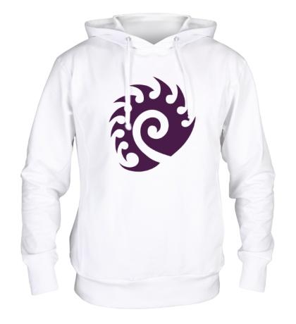 Толстовка с капюшоном Zerg Logo