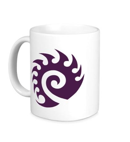 Керамическая кружка Zerg Logo