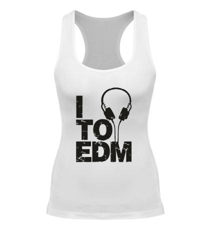 Женская борцовка I listen to EDM
