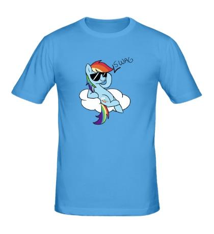 Мужская футболка Rainbow Dash Style