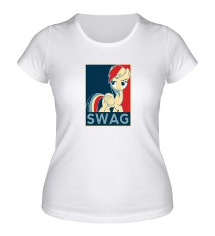 Женская футболка SWAG Rainbow Dash