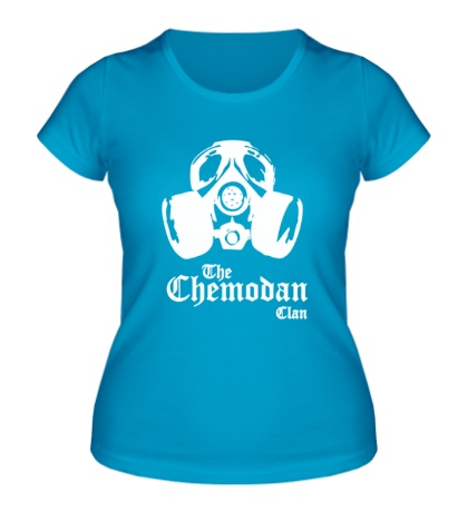 Женская футболка The Chemodan Clan