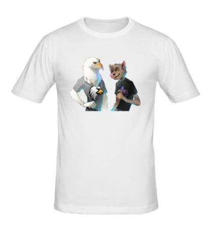 Мужская футболка Орленок и МДК