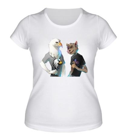 Женская футболка Орленок и МДК