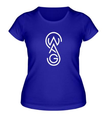 Женская футболка Swag Rounds