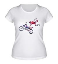 Женская футболка Moto Extreme