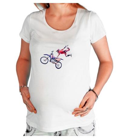 Футболка для беременной Moto Extreme