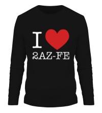 Мужской лонгслив I love 2AZ-FE
