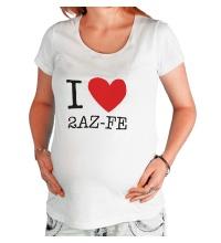 Футболка для беременной I love 2AZ-FE