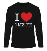 Мужской лонгслив I love 1MZ-FE