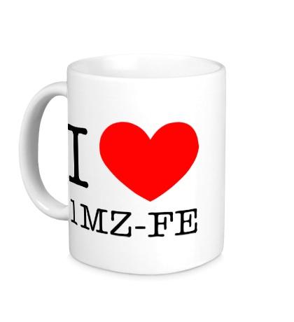 Керамическая кружка I love 1MZ-FE