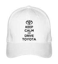 Бейсболка Keep calm and drive Toyota