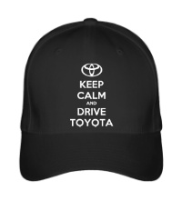 Бейсболка Keep calm and drive Toyota