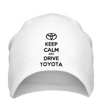Шапка Keep calm and drive Toyota
