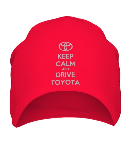 Шапка Keep calm and drive Toyota