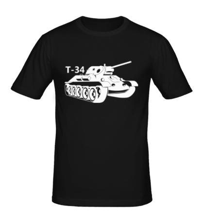 Мужская футболка Т-34