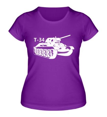 Женская футболка Т-34