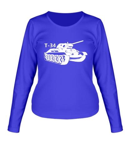Женский лонгслив Т-34