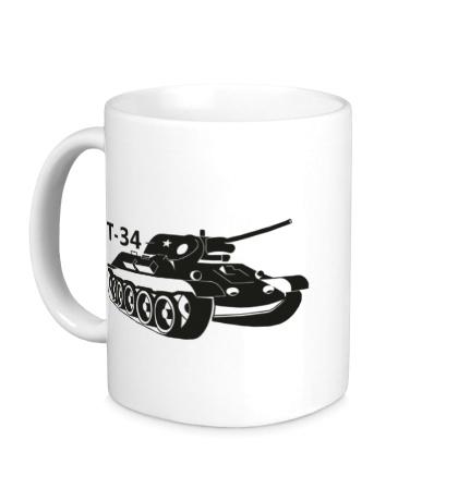 Керамическая кружка Т-34